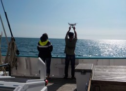 Mission drone, plan du Fleur de Lampaul en navigation