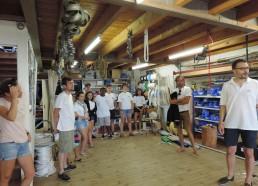 Visite de la voilerie Burgaud