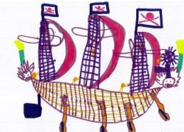 Concours dessins : Mon bateau imaginaire - Institut Curie