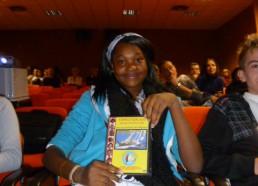 Cynthia et son dvd de l'expédition