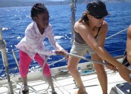 Stella et Flore en action !!