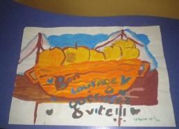 Concours dessins : Mon bateau imaginaire - Catherine, 10 ans 1/2 - Hôpital ANDRE MIGNOT - LE CHESNAY VERSAILLES