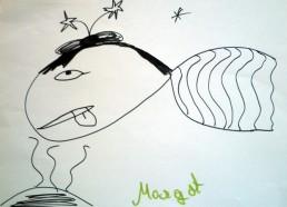 Concours dessin : Mon plus beau poisson - Margot - CHU de Nantes Pavillon de la mère et de l