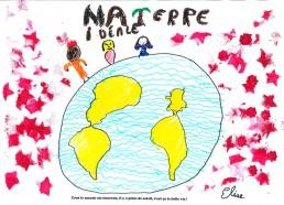 Concours dessin : Ma terre idéale - Elise - ESEAN Etablissement de Santé pour Enfants & Adolescents de la région Nantaise - 3ème place, 3 points