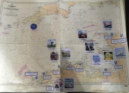 Carte de présentation de la 22ème expédition JUILLET 2019 Bretagne Nord