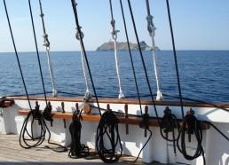 Cap Corse et mouillage à Barcaggio