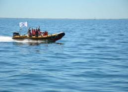 Loïc LE'CLECH propose aux matelots une petite escapade en semi-rigide !