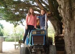 Marie et Lynn prennent de la hauteur, le prochaine fois ce sera dans le nid de pie du Bora-Bora
