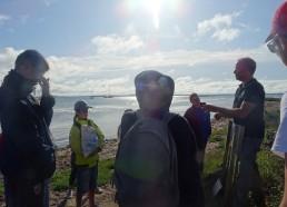 Vincent Chapuis nous accueille sur une plage d'Ilure