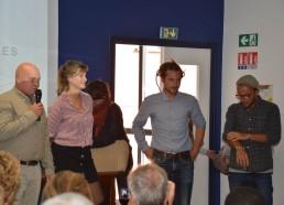 Gilles, Sarah, Grégoire, Adrien, Équipage Fleur de Lampaul