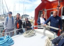 Visite de la SNSM (société nationale des secours en mer)