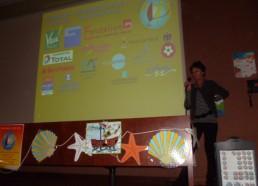 Françoise, la Présidente de l'association ouvre la conférence 2010