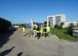 Arrivée au site d'enfouissement à Belle-Île