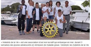 Les Matelots de la vie ont fait escale à Saint-Florent, Corse Net Infos, 03-08-2015