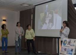 Lila présente un film réalisé dans le service de pédiatrie durant le Challenge des Matelots