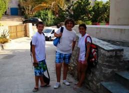 Alexandre, Laura et Adam
