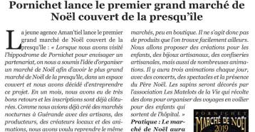 Pornichet lance le premier grand marché de Noël couvert de la presqu'île, La Baule +, L'essentiel de la presqu'île guérandaise !, n°188, novembre 2019, page 21