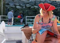 Magali, corsaire est pro dans la lecture de carte