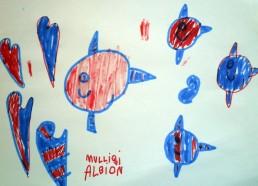 Concours dessin : Mon plus beau poisson - CHU de Nantes Pavillon de la mère et de l