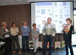 M.ALLIOT, directeur général du groupe Alliot, vient expliquer l'intérêt de soutenir un tel projet au sein de leur entreprise