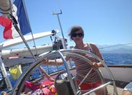 Même les encadrants (Emilie) s'improvisent capitaine !