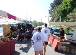 Achat au marché de Saint-Quay-Portrieux