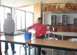 Nettoyage de table