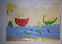 Concours dessins : Mon bateau imaginaire - Hôpital ANDRE MIGNOT - LE CHESNAY VERSAILLES