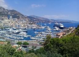 Le port de Monaco avec au loin le Fleur de Lampaul