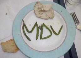 MDV même dans les assiettes…