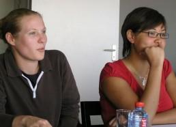 L'équipe de Curie lors de la réunion