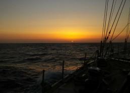 Coucher de soleil méditerranéen