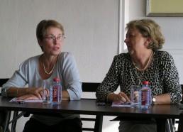 L'équipe de Rouen lors de la réunion