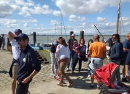 Accueil des nouveaux matelots et de leur famille