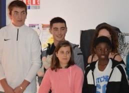 Hugo, Gatien, Solène, Idrissa, Expédition juillet