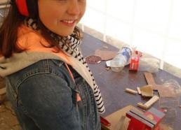 Camille futur charpentier de marine?