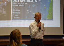 Jean-Yves CHAUVE, Médecin de l'expédition parle du Challenge dans les hôpitaux