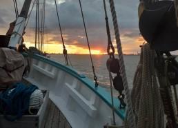 1er coucher de soleil sur Paimbœuf