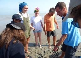 Recherche du verre de sable