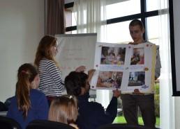 Le carnet de bord réalisé par les enfants du service de pédiatrie de l'hôpital André Mignot au Chesnay Versailles