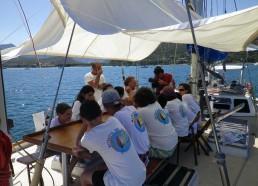 Les matelots posent de nombreuses questions