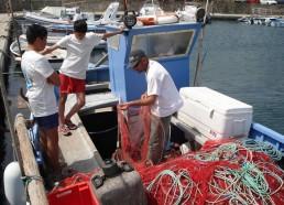 Pêcheur à Barcaggio