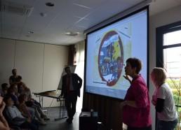Les animatrices et le directeur du centre ESEAN nous racontent le jeu des Matelots
