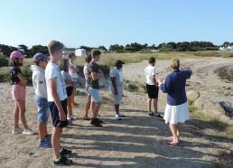 Les Matelots avec Sandrine à la plage des broches