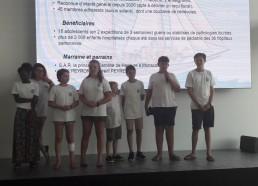 Les Matelots présentent l'association au Yachting Club