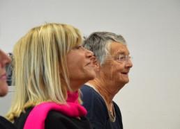 Jocelyne et Jacqueline, membres de l'association Matelots de la Vie