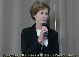 Françoise, 10 années à la tête de l'association