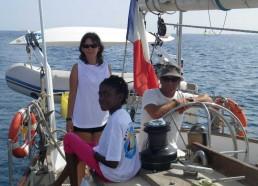 Capitaine Fifi et son lieutenant Mélissa accompagne de Stella sont prêt pour la manoeuvre