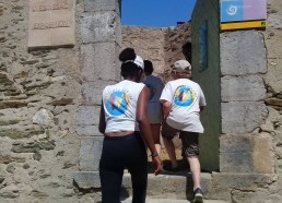 Entrée du fort de l'Estissac