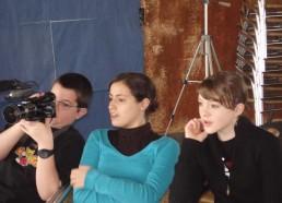 Des matelots en plein tournage